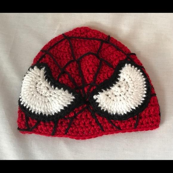 Kaella Accessories Spiderman Crochet Kids Hat Poshmark